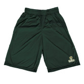 Performance Classic Dark Green 9 Inch Short-Barons - Franciscan University - Official Logo