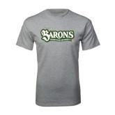 Grey T Shirt-Barons - Franciscan University