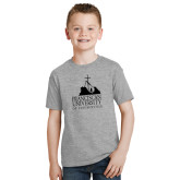 Youth Grey T-Shirt-Franciscan University Mark
