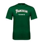 Performance Dark Green Tee-Tennis