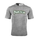 Performance Grey Heather Contender Tee-Arched Franciscan