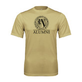 Performance Vegas Gold Tee-Alumni - Seal