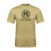 Syntrel Performance Vegas Gold Tee-Alumni - Seal