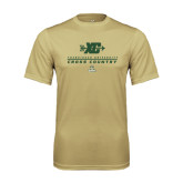 Performance Vegas Gold Tee-Cross Country XC Design