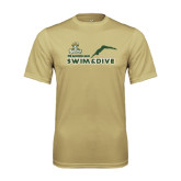 Performance Vegas Gold Tee-Swim and Dive Diver Design