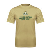 Performance Vegas Gold Tee-Can You Dig It - Volleyball Design