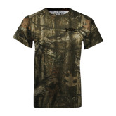 Realtree Camo T Shirt-Arched Franciscan Tone