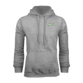 Grey Fleece Hoodie-Arched Franciscan