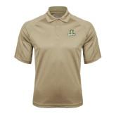 Vegas Gold Textured Saddle Shoulder Polo-Barons - Franciscan University - Official Logo
