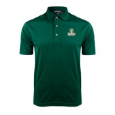 Dark Green Dry Mesh Polo-Barons - Franciscan University - Official Logo