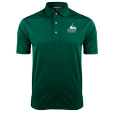 Dark Green Dry Mesh Polo-Franciscan University Mark
