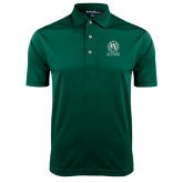 Dark Green Dry Mesh Polo-Alumni - Seal
