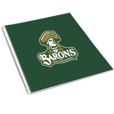 College Spiral Notebook w/Clear Coil-Barons - Franciscan University - Official Logo