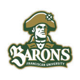 Small Magnet-Barons - Franciscan University - Official Logo, 6 in Wide
