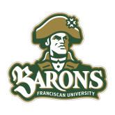 Medium Magnet-Barons - Franciscan University - Official Logo, 8 inWide