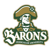 Large Magnet-Barons - Franciscan University - Official Logo, 12 in Wide
