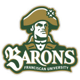 Extra Large Magnet-Barons - Franciscan University - Official Logo, 18 in Wide