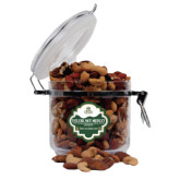 Deluxe Nut Medley Round Canister-Barons - Franciscan University - Official Logo