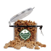 Cashew Indulgence Round Canister-Barons - Franciscan University - Official Logo
