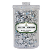 Kissable Creations Large Round Canister-Barons - Franciscan University - Official Logo