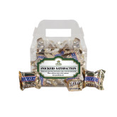 Snickers Satisfaction Gable Box-Barons - Franciscan University - Official Logo