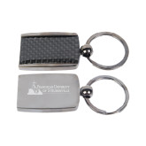 Corbetta Key Holder-Franciscan University Mark - Flat Engraved
