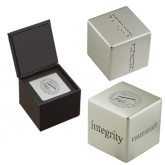 Icon Inspiration Cube-Fanciscan University Seal Engraved