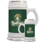 Full Color Decorative Ceramic Mug 22oz-Barons - Franciscan University - Official Logo