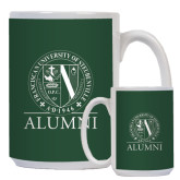 Alumni Full Color White Mug 15oz-Alumni - Seal