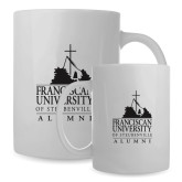 Alumni Full Color White Mug 15oz-Alumni - University Mark