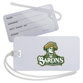 Luggage Tag-Barons - Franciscan University - Official Logo
