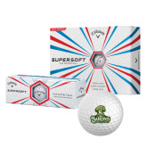 Callaway Supersoft Golf Balls 12/pkg-Barons - Franciscan University - Official Logo