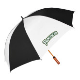 62 Inch Black/White Umbrella-Arched Franciscan