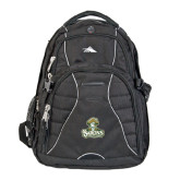 High Sierra Swerve Compu Backpack-Barons - Franciscan University - Official Logo