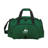 Challenger Team Dark Green Sport Bag-Franciscan University Mark