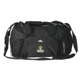 High Sierra Black Switch Blade Duffel-Barons - Franciscan University - Official Logo