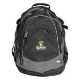 High Sierra Black Fat Boy Day Pack-Barons - Franciscan University - Official Logo