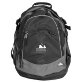 High Sierra Black Fat Boy Day Pack-Franciscan University Mark