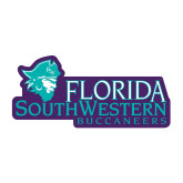 Medium Decal-Florida SW Buccaneers, 8 in. wide