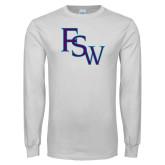 White Long Sleeve T Shirt-FSW