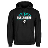 Black Fleece Hoodie-Buccaneers Basketball Half Ball
