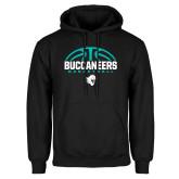 Black Fleece Hoodie-Buccaneers Basketball Half Ball
