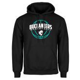 Black Fleece Hoodie-Buccaneers Basketball Arched Ball
