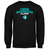 Black Fleece Crew-Florida SouthWestern Alumni Arched