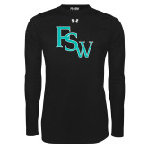 Under Armour Black Long Sleeve Tech Tee-FSW