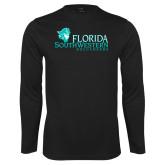 Syntrel Performance Black Longsleeve Shirt-Florida SW Buccaneers