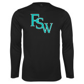 Performance Black Longsleeve Shirt-FSW