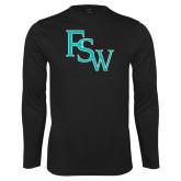 Syntrel Performance Black Longsleeve Shirt-FSW