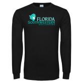 Black Long Sleeve T Shirt-Florida SW Buccaneers