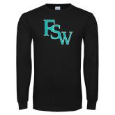 Black Long Sleeve T Shirt-FSW
